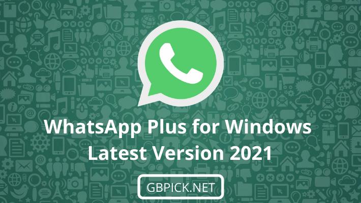 WhatsApp Plus for PC